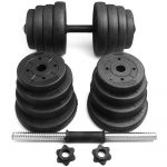 Yaheetech Adjustable 66LB Dumbbell Weight Set - <span> $47.5 Shipped</span> w/Coupon