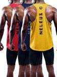 3/pk Neleus Dry Fit Y-Back Muscle Tank Top - <span>$23.99 Shipped </span>