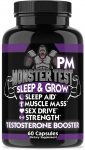 Angry Supplements Monster Test PM Testosterone - <span> $14.99 Shipped</span>