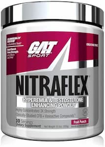 GAT Sport, NITRAFLEX Testosterone Boosting Powder