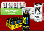 Energy Drinks- <span> $15/Case Shipped!</span> RAZE, REIGN, Mad Pony