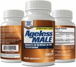 Ageless Male Testosterone Booster -  <span> $27.5 Shipped </span>