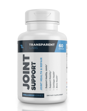 Transparent Labs Joint Support Review