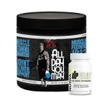 Rich Piana ALL DAY YOU MAY + NutraBio UpSorb <SPAN> $23.99!!</SPAN>