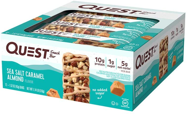 Quest Protein Snack Bars (Box)- <span> $10.80 Shipped </span>