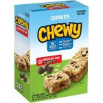 Chewy and Quaker Bars Sale - <span> Start at $7.9 + Free Shipping</span>