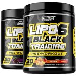 NUTREX LIPO-6 BLACK TRAINING- <SPAN>$9.99EA</Span> [Pre-Workout]