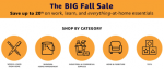 The BIG Fall Sale - <span> Free Shipping</span>