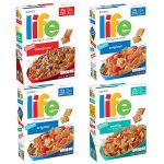4/pk Quaker Life Breakfast Cereal -  <span> $7.99 Shipped </span>