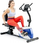 Marcy Magnetic Recumbent Exercise Bike -  <span> $217 Shipped </span>