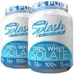 2lbs Iso-Splash 100% Whey Isolate - <span> $7.5EA</span>