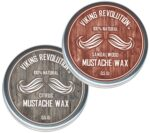 2/pk Viking Revolution  Mustache Wax - <span> $8.88 Free Shipping </span>