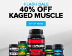 FLASH SALE - Kaged Muscle - <span> 40% OFF!!</span>