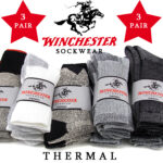 Winchester Thermal Socks 3-Pack -  <span> $6.99 Shipped </span>