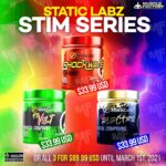 Static Labz - Stim Junkie Trio  <span> All 3 for $89.99</SPAN>