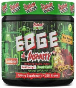 Edge of Insanity Pre Workout