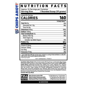 Ghost Protein Ingredients