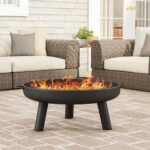 Pure Garden Outdoor Fire Pit - <span>$79.99 Shipped</span>