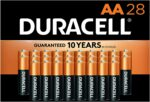 28pc Duracell AAA Batteries - <span> $14 Shipped</span> w/Coupon