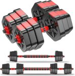 Invigalux 44-Lb Dumbbell Set - <span> $54.99 Shipped</span> w/Coupon