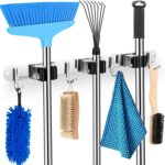 Mop and Broom Holder - <span> $6.99 Shipped </span>