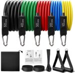 Fie Resistance Bands Set - <span> $11.5 Shipped </span> w/2 Coupons