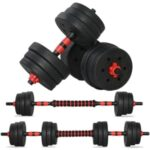 Keevin 66-Lb. Dumbbell Set - <span>$48.99 Shipped</span> w/Coupon