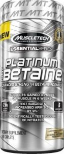 MuscleTech : Platinum 100% Betaine