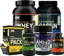 Optimum Nutrition : Big Man on Campus Stack
