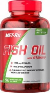 Met-Rx : Fish Oil with Vitamin D